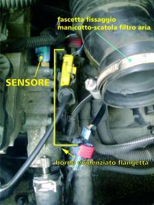 Peugeot 307 - Sensore